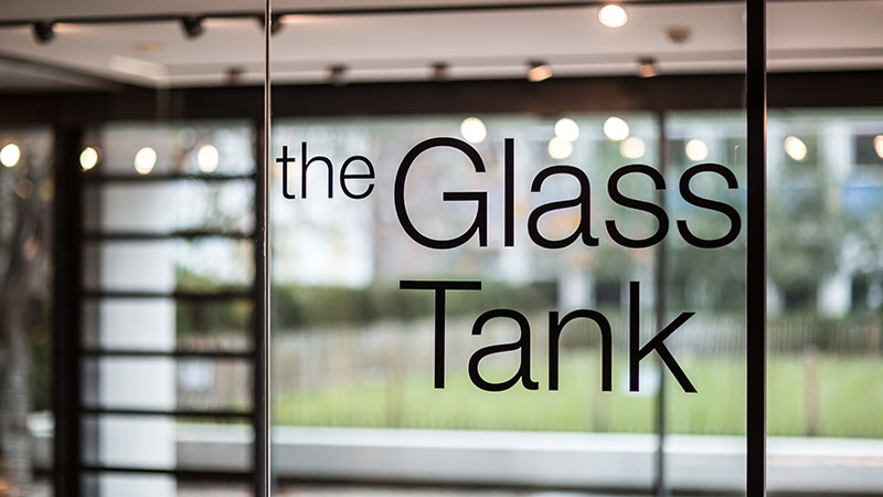 Glass Tank exhibition space
