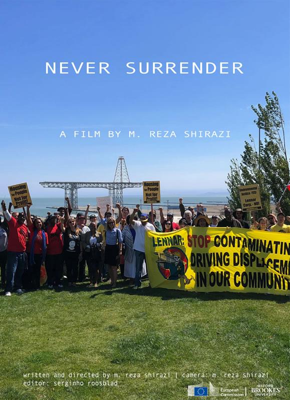 Never Surrender film poster