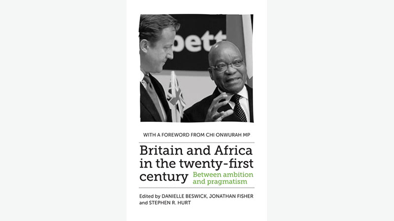 Book cover - Britain and Africa in the 21st Century