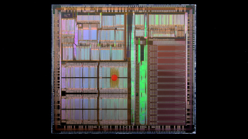 Image of a microchip